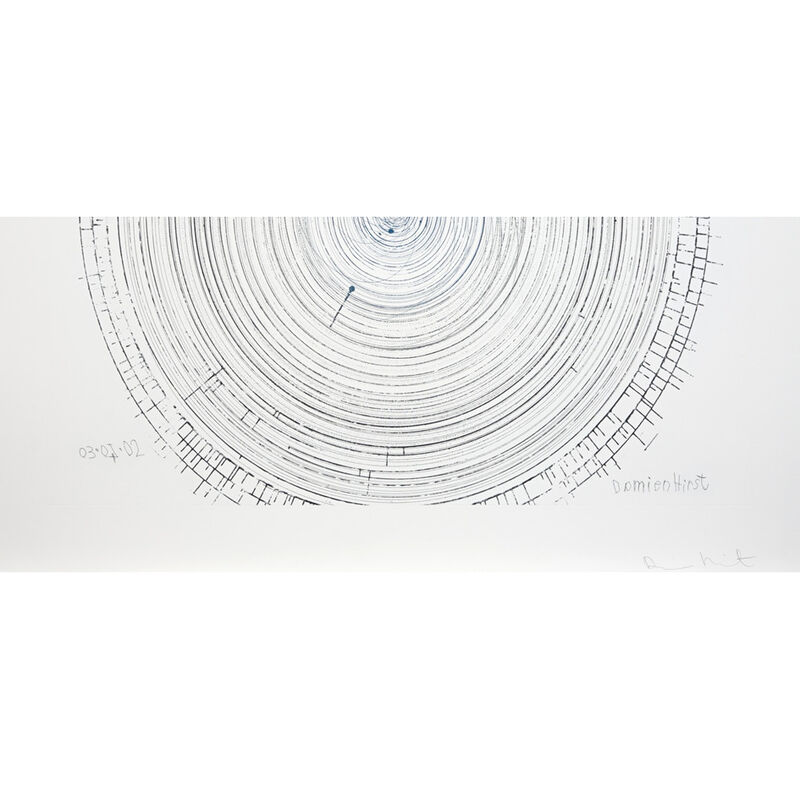 Damien Hirst, 'The Twist (from In a Spin, the Action of the World on Things, Volume II)', 2002, Print, Etching on 350gsm Hahnemühle paper, Weng Contemporary