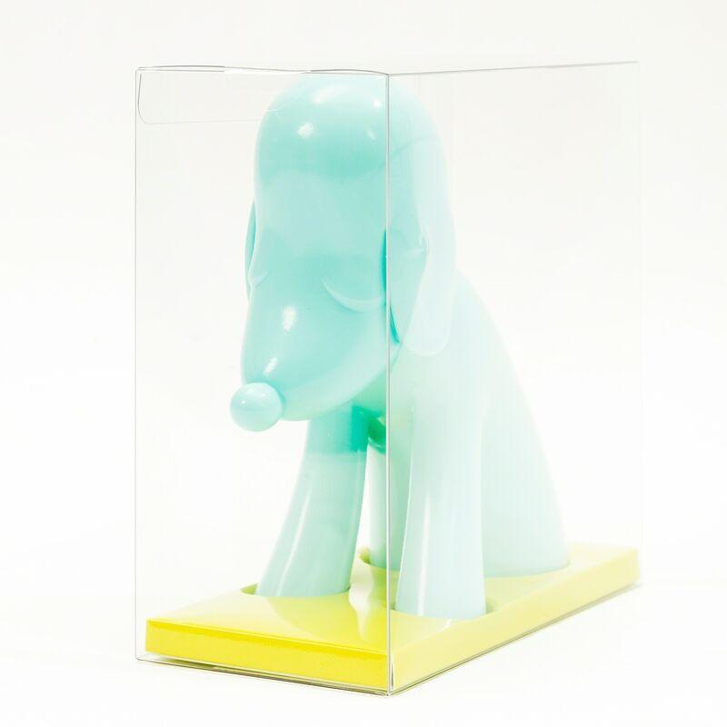 Yoshitomo Nara, 'Aomori Dog (Blue)', 2017, Sculpture, Vinyl multiple, Forum Auctions