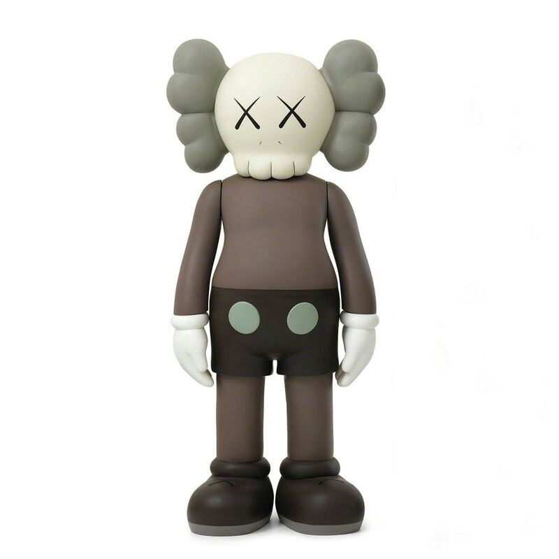 KAWS, '4Ft Companion (Brown)', 2007, Sculpture, Painted Cast Vinyl; Incised 'Medicom Toy 2007 KAWS 07' to the underside of the feet, Pop Fine Art