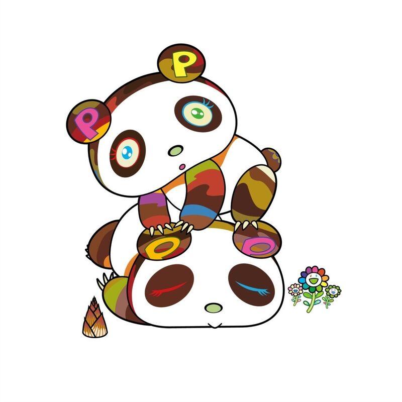 Takashi Murakami, 'Panda. Hoyoyo, Suyasuya.', 2020, Print, Silkscreen, Pinto Gallery