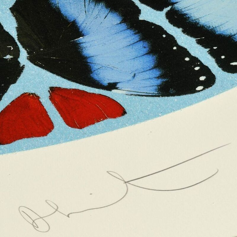 Damien Hirst, 'Psalm: Ad te, Domine, levavi (with Diamond Dust)', 2010, Print, Silkscreen with Diamond Dust, Weng Contemporary