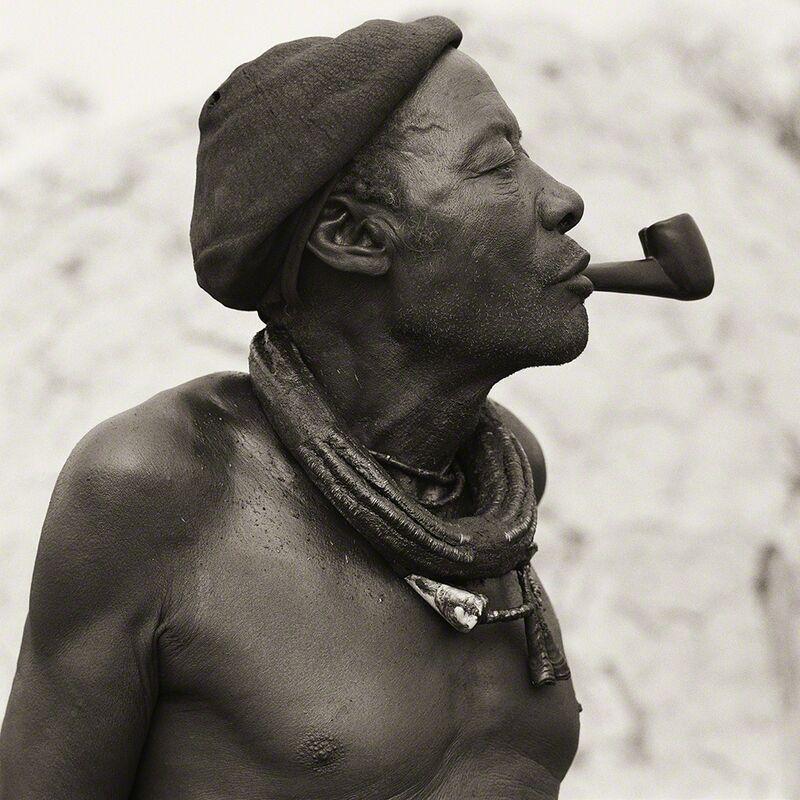 Dana Gluckstein, 'Himba Headman, Namibia', 2007, Photography, Archival Pigment Photograph, Holden Luntz Gallery