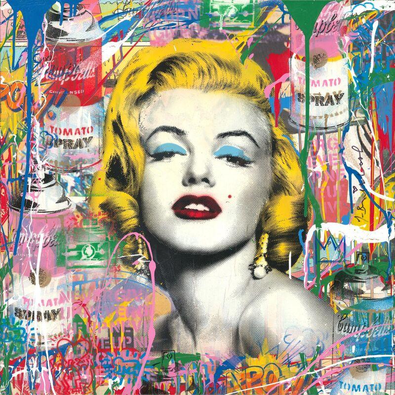 Mr. Brainwash, 'Marilyn Monroe', 2019, Mixed Media, Mixed media, NG Art Gallery