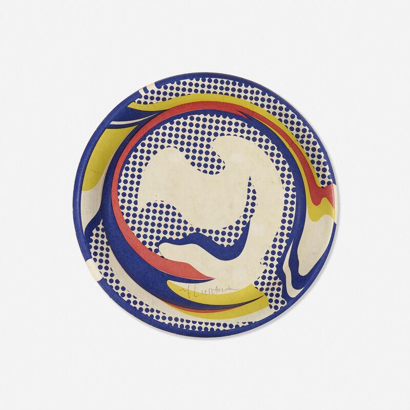 Roy Lichtenstein, 'Paper Plate', 1969, Print, Screenprint in colors on paper plate, Rago/Wright/LAMA