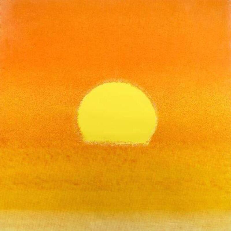 Andy Warhol, 'Susnet (yellow / orange)', 1972, Print, Screenprint on paper, OSME Fine Art