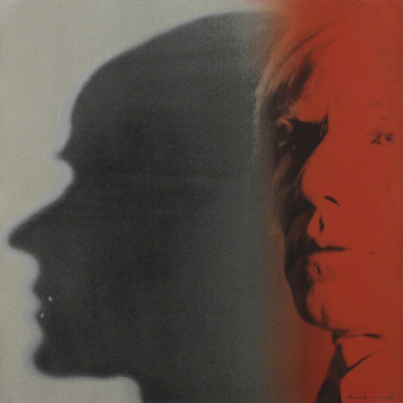 Andy Warhol, 'The Shadow', 1981, Print, Color screenprint with diamond dust on Lenox Museum Board, Meyerovich Gallery