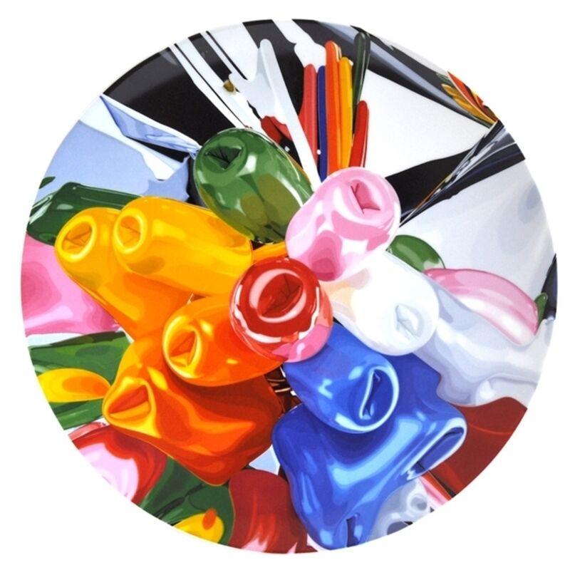 Jeff Koons, 'Tulips Coupe Service Plate', 2015, Design/Decorative Art, Glazed porcelain, Artware Editions