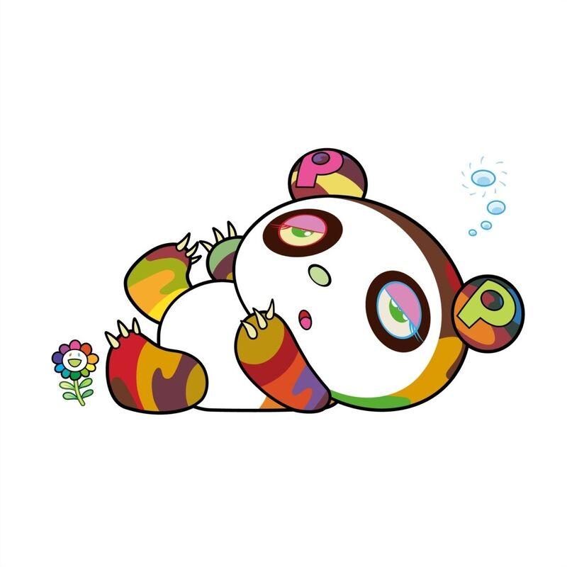 Takashi Murakami, 'Panda is sleepy and sleepy.', 2020, Print, Silkscreen, Pinto Gallery