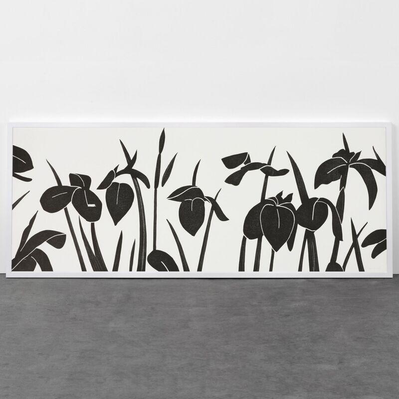 Alex Katz, 'Flags', 2013, Print, Woodcut, Weng Contemporary