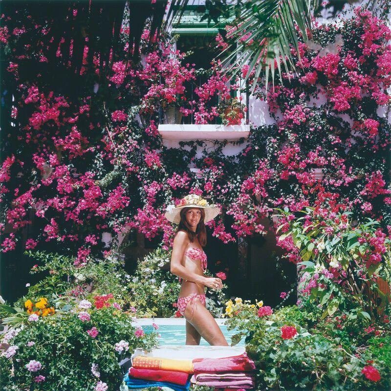 Slim Aarons, 'Valerie Cates in Marbella', 1976, Photography, Chromogenic print, IFAC Arts