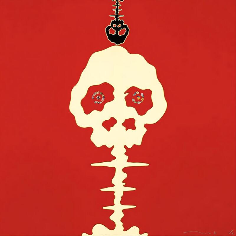 Takashi Murakami, 'Time Bokan (Red)', 2001, Print, Offset print, Pinto Gallery