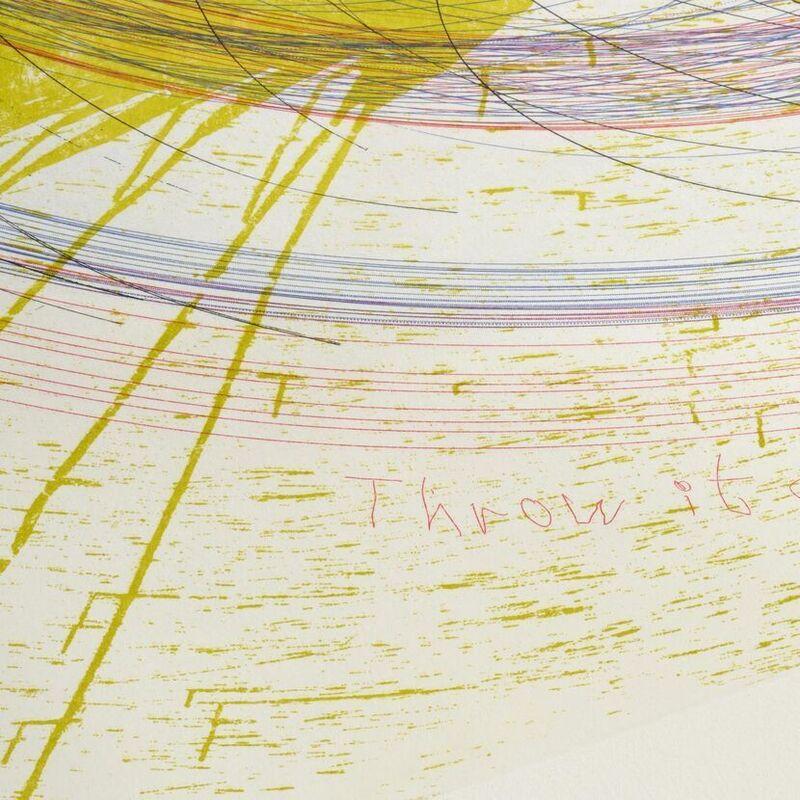 Damien Hirst, 'Damien Hirst, Throw it around', 2002, Print, Etching, Oliver Cole Gallery
