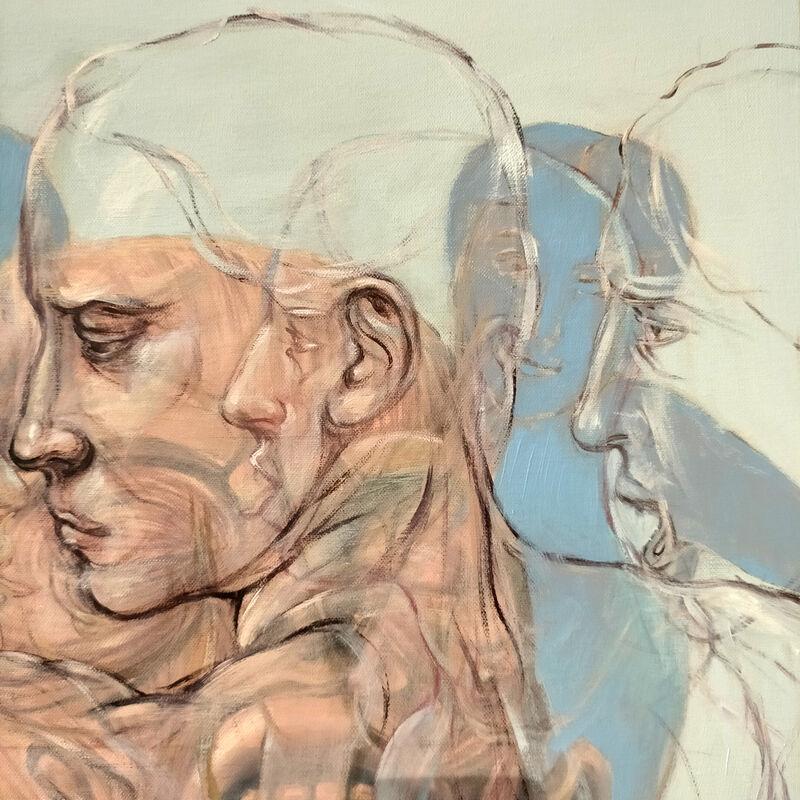 Henri Deparade, 'Orestie ', 2018, Painting, Oil on canvas, Accesso Galleria