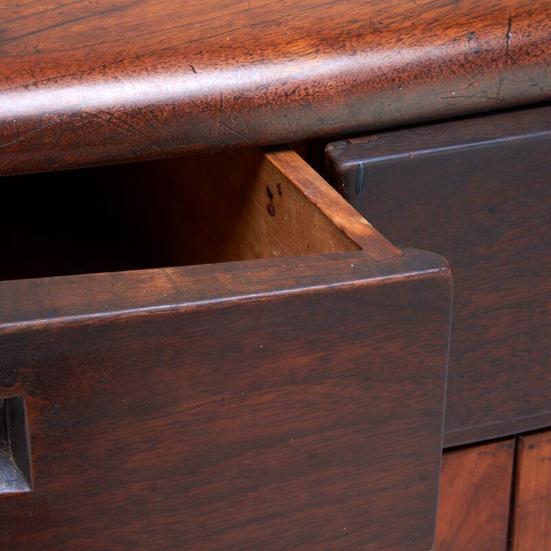 Wharton Esherick, 'Fine Cabinet, Paoli, PA', 1950s, Design/Decorative Art, Figured Walnut, Stained Poplar, Rago/Wright