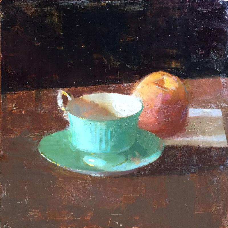 Jon Redmond, 'Eclipse', 2017, Painting, Oil on board, Somerville Manning Gallery