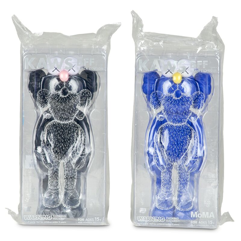 KAWS, 'Two BFF Companions (black edition and blue MoMA exclusive)', 2017, Other, Vinyl, Rago/Wright