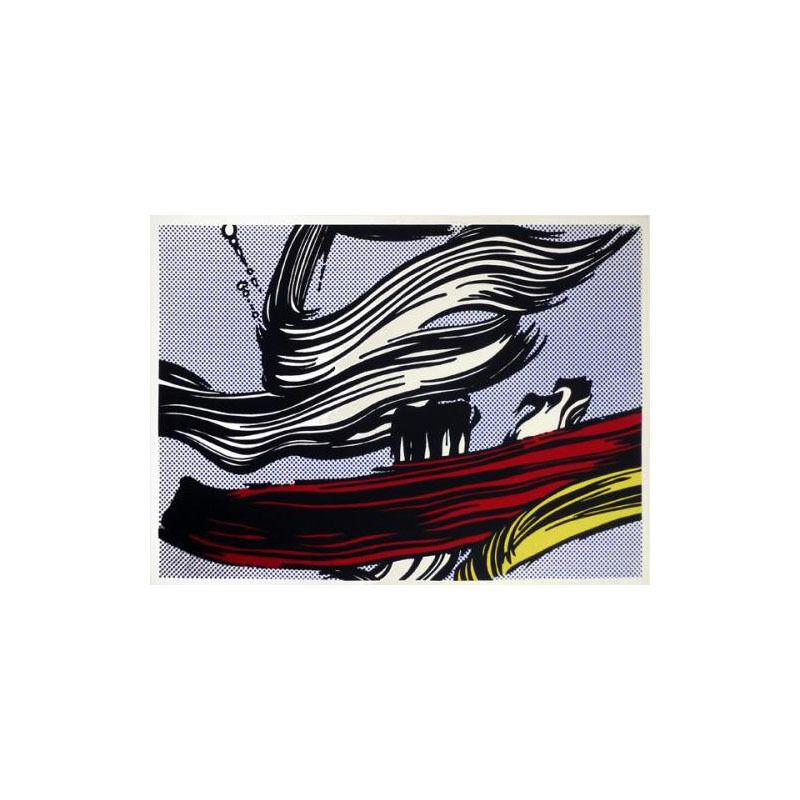 Roy Lichtenstein, 'Brushstrokes', 1967, Print, Silkscreen on paper, Taglialatella Galleries