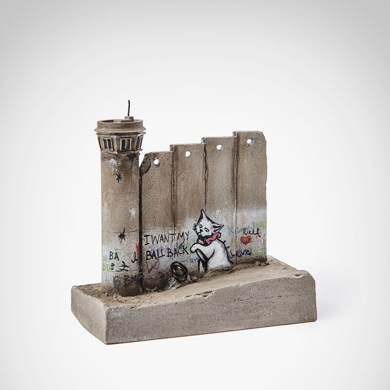 Banksy, 'Walled Off Hotel - (I Want My Ball Back)', Sculpture, Five-part Souvenir Wall Section with Watch Tower, hand-painted resin sculpture, Tate Ward Auctions