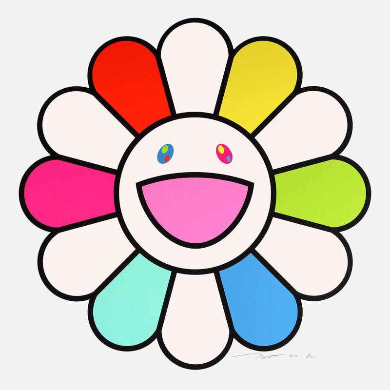 Takashi Murakami, 'Smile Every Day with Flowers!', 2020, Print, Silkscreen, Kumi Contemporary / Verso Contemporary