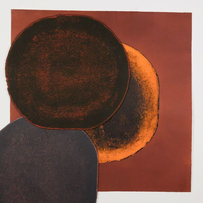 El Anatsui, 'Untitled, from the Eclipse Suite, ed.1/3', 2016, Print, Intaglio print with collage and chine-collé, October Gallery