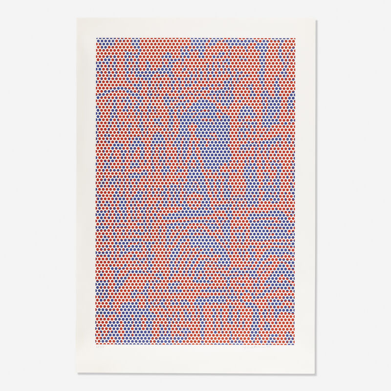 Roy Lichtenstein, 'Cathedral #2', 1969, Print, Lithograph in colors, Rago/Wright