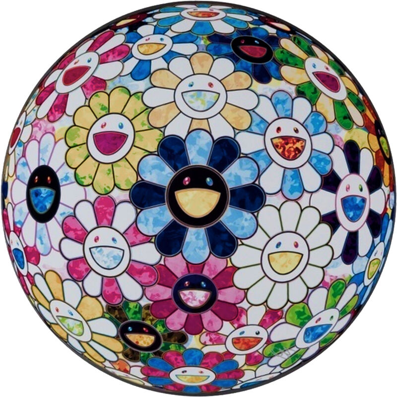 Takashi Murakami, 'The Flowerball's Painterly Challenge', 2016, Print, Offset-litograph on paper, Fineart Oslo