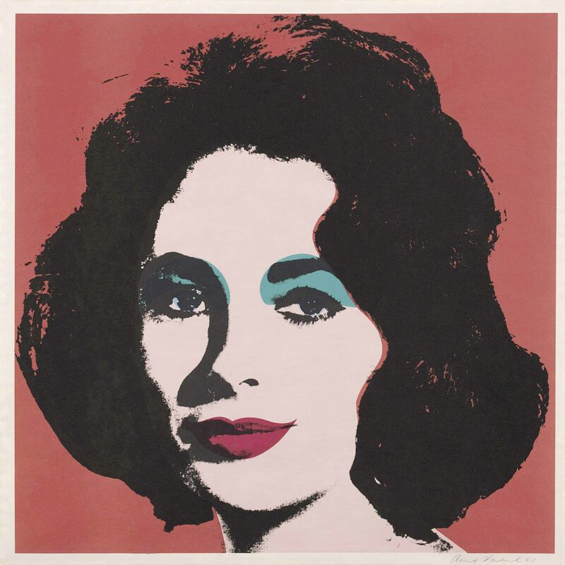 Andy Warhol, 'Liz', 1964, Print, Offset lithograph in colors, on wove paper, Christie's