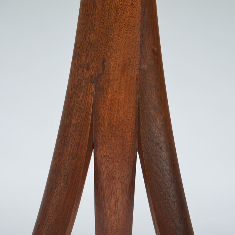 Wendell Castle, 'Dictionary stand, edition of 12, Scottsville, NY', 1968, Design/Decorative Art, Laminated and sculpted walnut, Rago/Wright