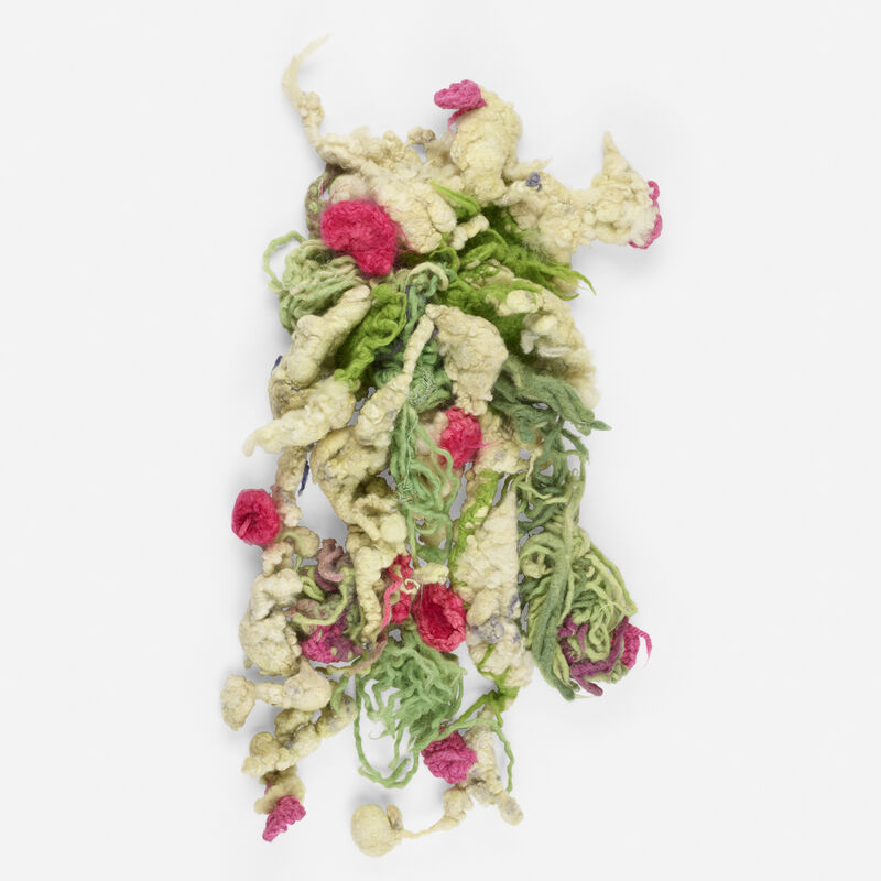 Christian Holstad, 'Flowers', 2003, Textile Arts, Crocheted and felted wool, Rago/Wright/LAMA