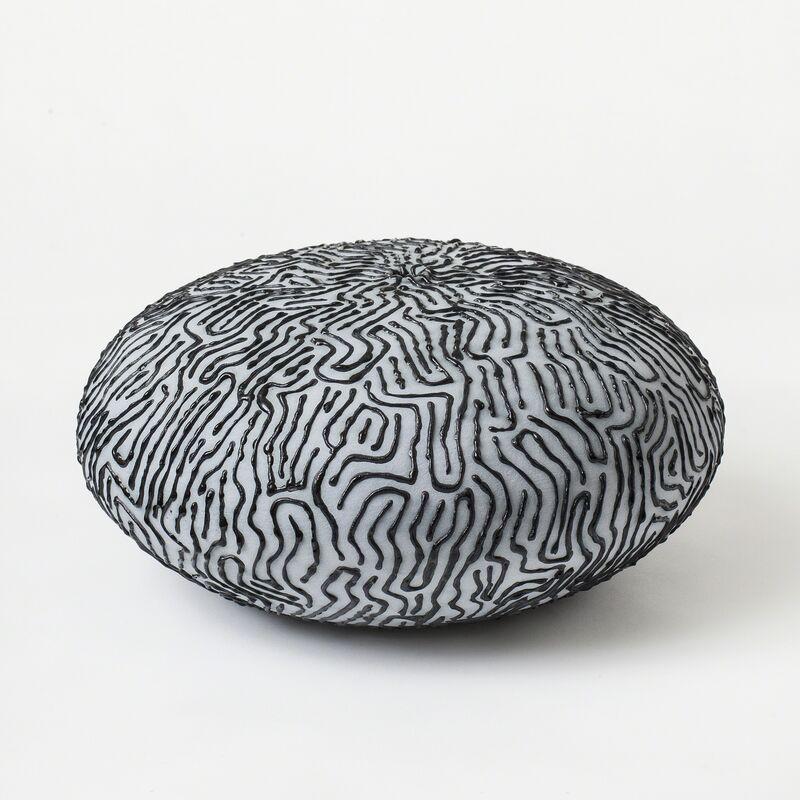 "Lone Skov Madsen, '""Geometric Lines"" Vessel ', 2016, Design/Decorative Art, Ceramic, J. Lohmann Gallery"