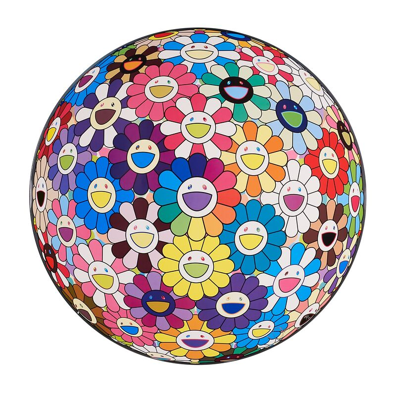Takashi Murakami, 'Flowerball (Thoughts on Matisse)', 2015, Print, Offset lithograph in colors, Rago/Wright/LAMA