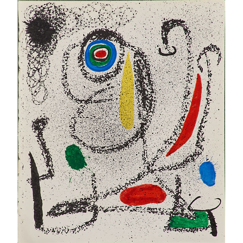 Joan Miró, 'Seven lithographs in colors', 1968-1973, Print, Lithographs in colors, Rago/Wright