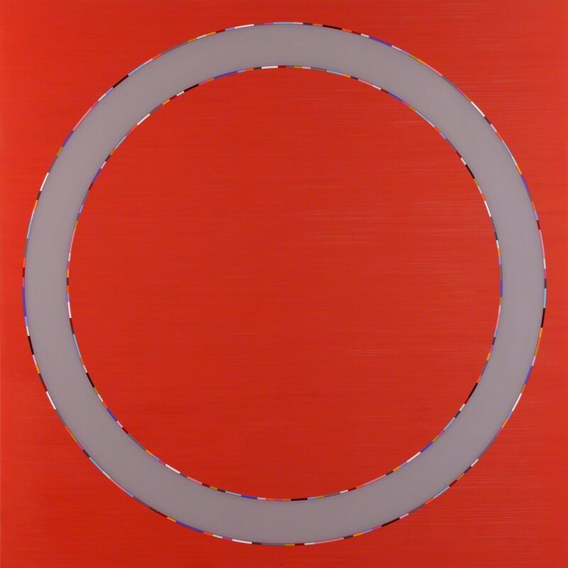 Carol Robertson, 'Circular Stories - Passing', 2013, Painting, Oil on canvas, Flowers