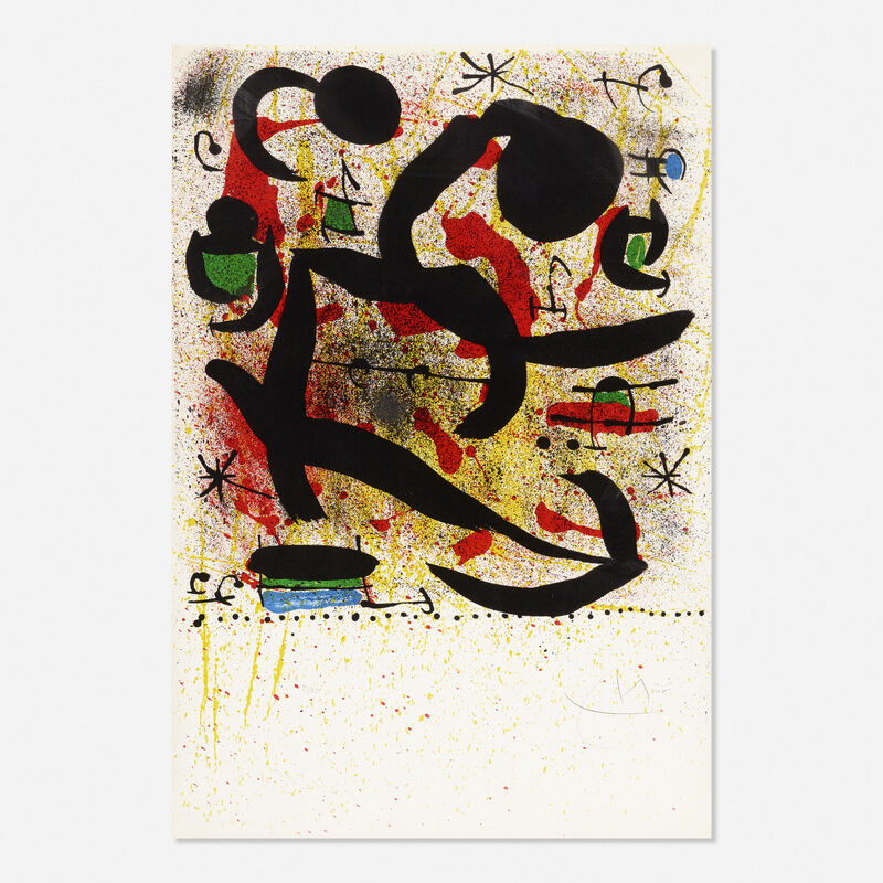Joan Miró, 'Composition', 1969, Print, Lithograph in colors, Rago/Wright/LAMA