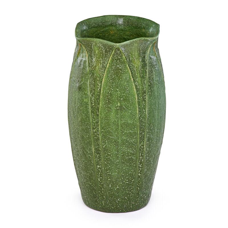Wilhelmina Post, 'Vase With Leaves And Buds, Boston, MA', 1906, Design/Decorative Art, Rago/Wright/LAMA