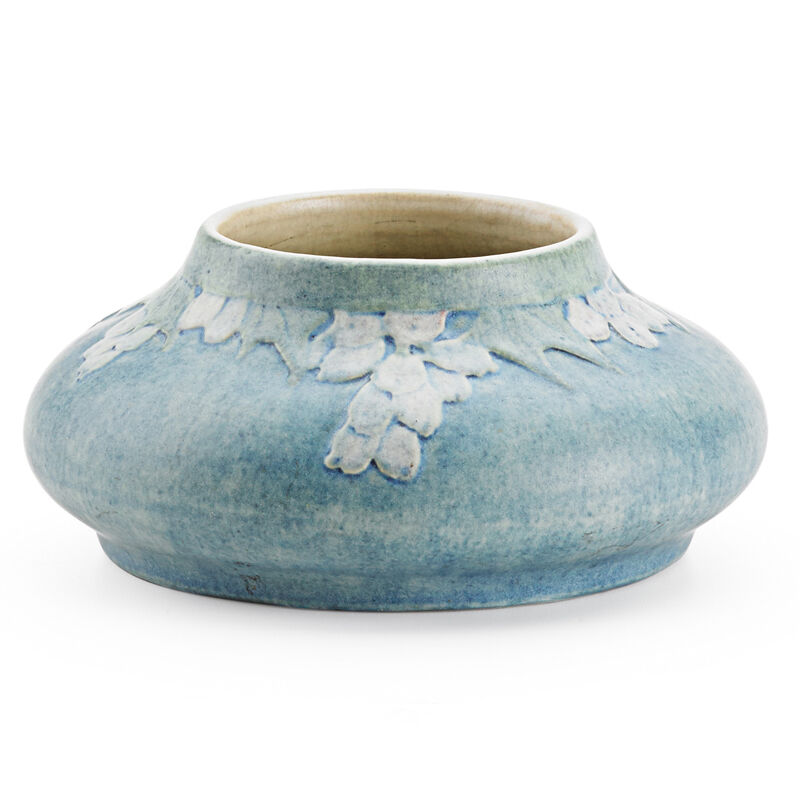 Sadie Irvine, 'Squat Transitional Vase With Blossoms, New Orleans, LA', 1916, Design/Decorative Art, Rago/Wright/LAMA
