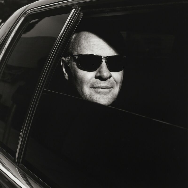 Michel Comte, 'Anthony Hopkins', 1991, Photography, Gelatin Silver Print, CAMERA WORK