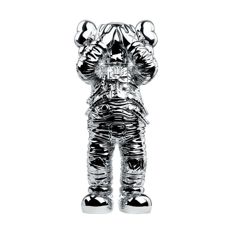 KAWS, 'HOLIDAY SPACE (SILVER) - KAWS', 2020, Sculpture, Polyurethane, Dope! Gallery