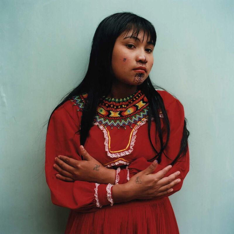 Karen Paulina Biswell, 'Embera Wera (Embera women)', 2013, Photography, C-Type Hand Printing, Instituto de Visión