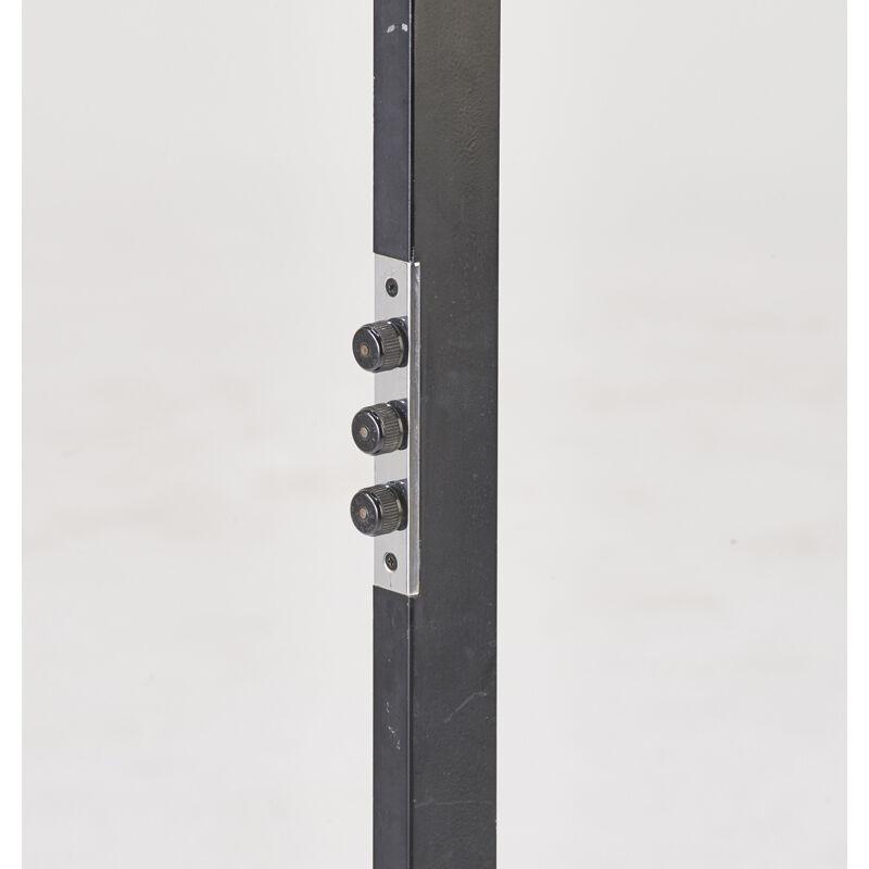 Arredoluce, 'Adjustable Floor Lamp, Italy', 1970s, Design/Decorative Art, Marble, chromed and enameled steel, three sockets, Rago/Wright