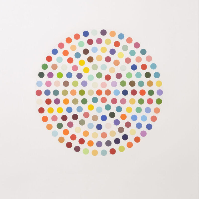 Damien Hirst, 'Damien Hirst, Cephalothin', 2007, Print, Etching on paper, Oliver Cole Gallery