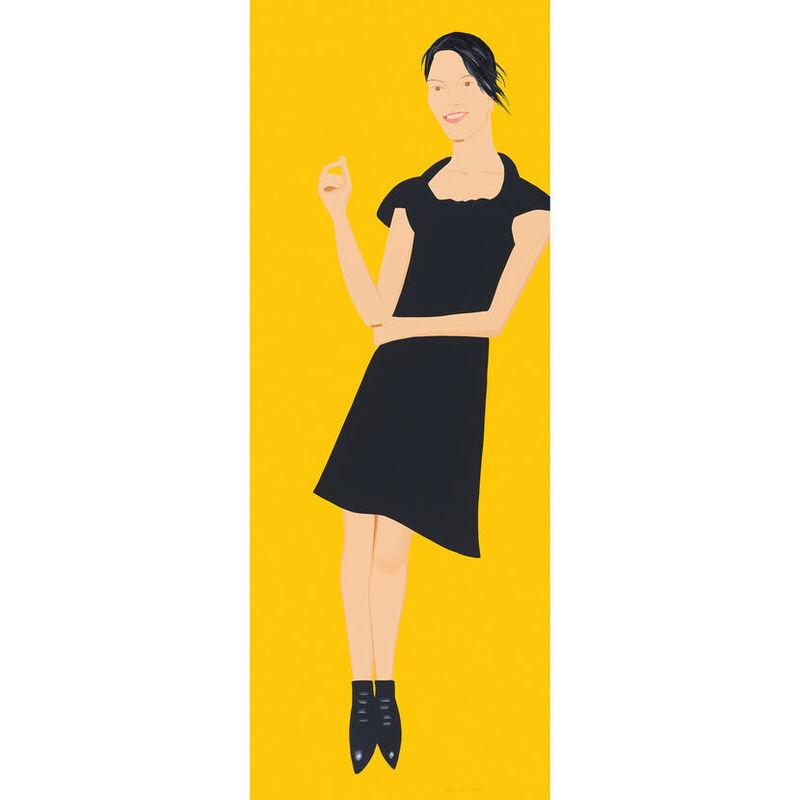 Alex Katz, 'Alex Katz, Black Dress (Carmen)', 2015, Print, Silkscreen, Oliver Cole Gallery