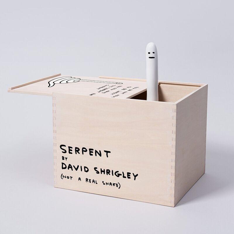 David Shrigley, 'SERPENT', 2020, Ephemera or Merchandise, Ceramic, Room Gallery