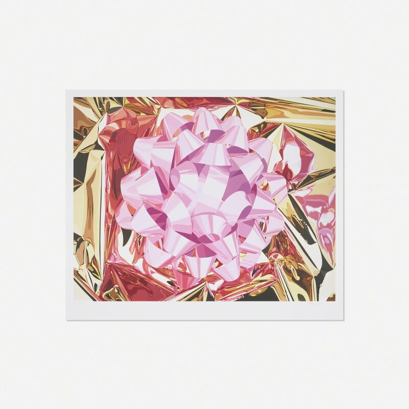 Jeff Koons, 'Pink Bow (from the Celebration Series)', 2013, Print, Pigment print on Japanese watercolor paper, Rago/Wright/LAMA