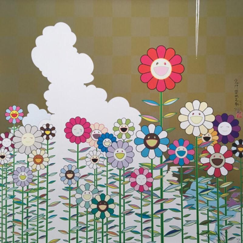 Takashi Murakami, 'POKA POKA: Warm And Sunny', 2011, Print, Offset print, Vogtle Contemporary