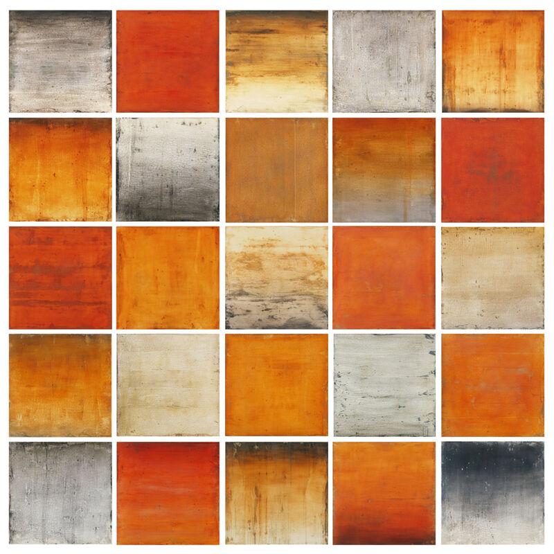 Mark Rediske, 'Horizon', 2019, Painting, Mixed media on panel, Foster/White Gallery