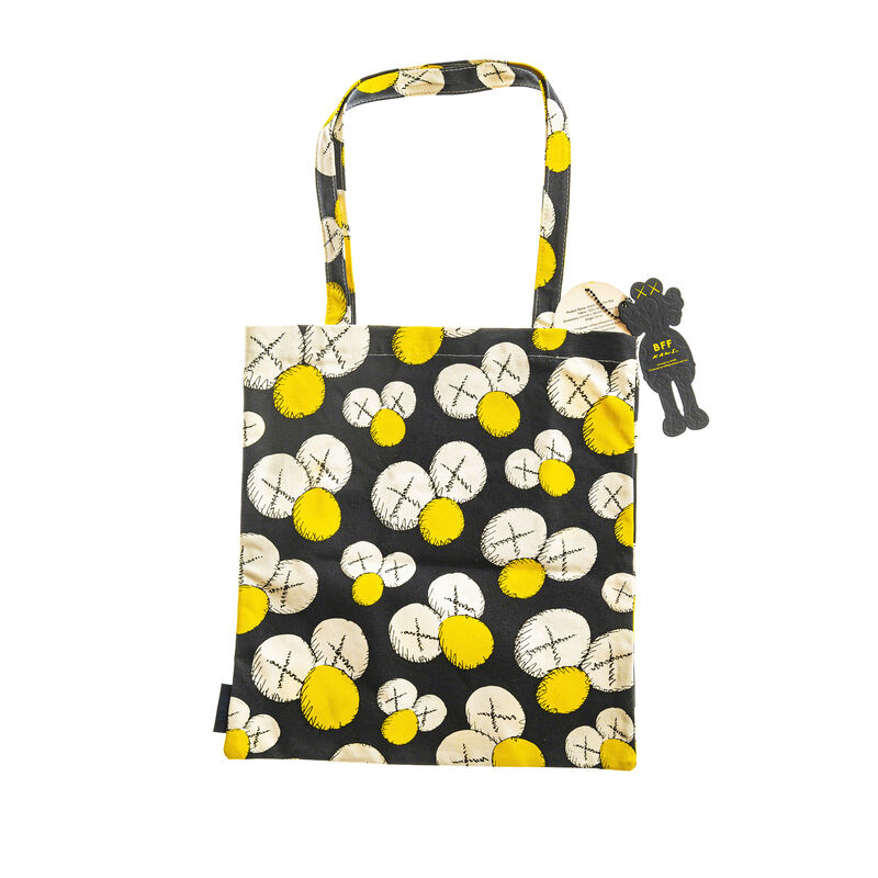 KAWS, 'BFF TOTE BAG (NAVY)', 2016, Fashion Design and Wearable Art, Tote Bag, DIGARD AUCTION