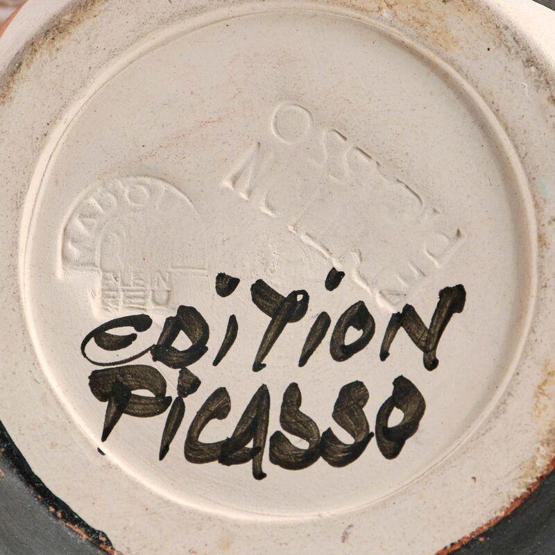 Pablo Picasso, 'Visage (Alain Ramié 288)', 1955, Design/Decorative Art, Painted and partially glazed (interior only) white ceramic pitcher, Doyle