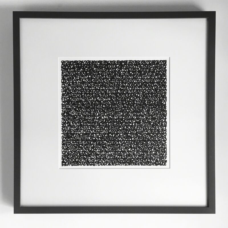 """James Vance, '""""#9652""""', 2015-2016, Drawing, Collage or other Work on Paper, Ink on paper, Parlor Gallery"""