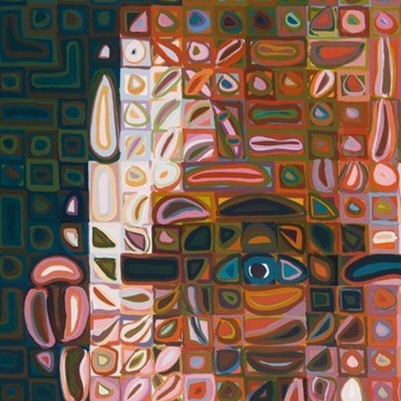 Chuck Close, 'Self-Portrait Screenprint 2012', 2012, Print, Silkscreen, Weng Contemporary